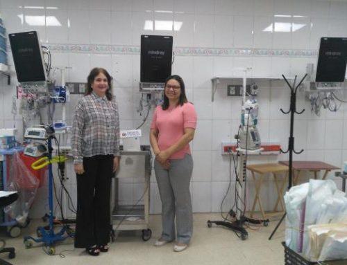 CULMINA PRIMERA FASE DE PROYECTO DE COOPERACIÓN NO REEMBOLSABLE A CENTROS HOSPITALARIOS
