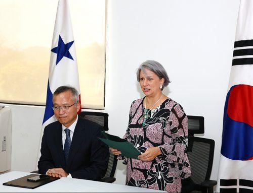 A TRAVÉS DE PANAMÁ COOPERA, COREA ENTREGA EQUIPOS DE SEGURIDAD PARA HUB HUMANITARIO